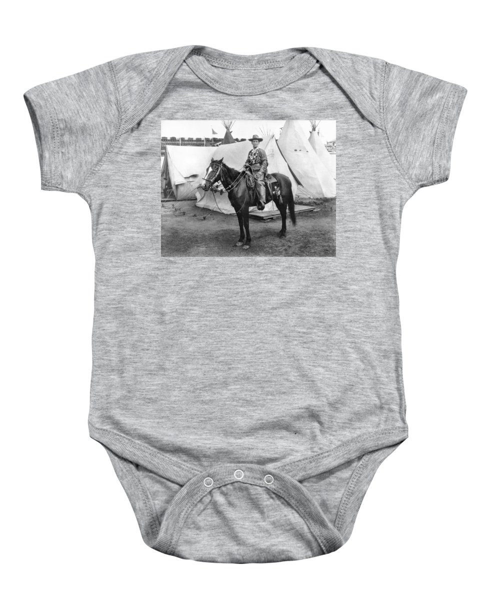 1901 Baby Onesie featuring the photograph Calamity Jane (c1852-1903) by Granger