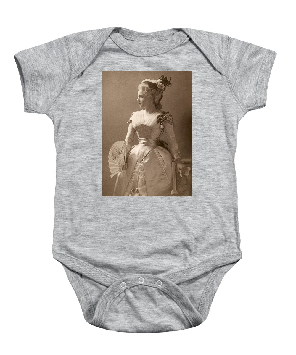 19th Century Baby Onesie featuring the photograph Lillie Langtry (1852-1929) by Granger
