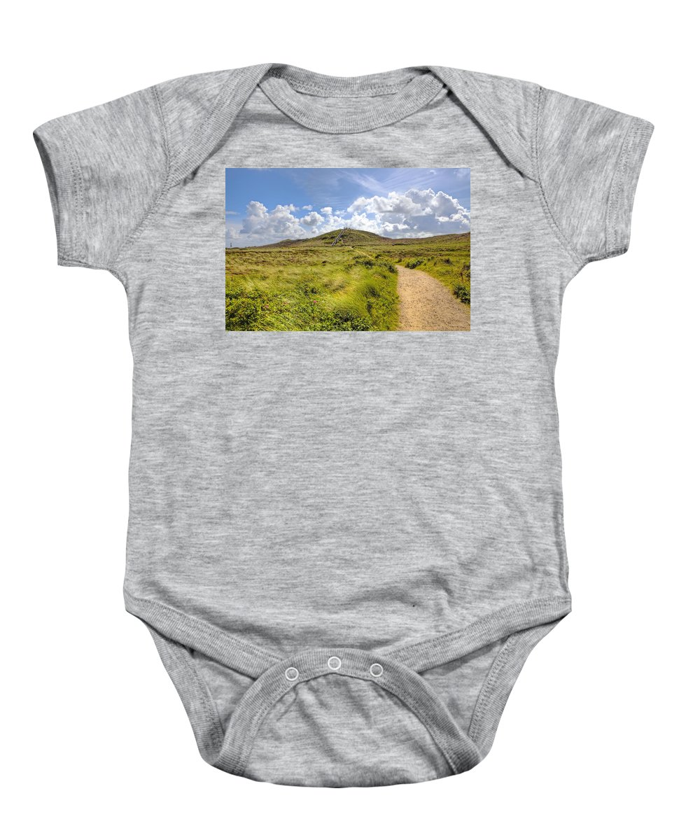 Uwe-dune Baby Onesie featuring the photograph Kampen - Sylt by Joana Kruse