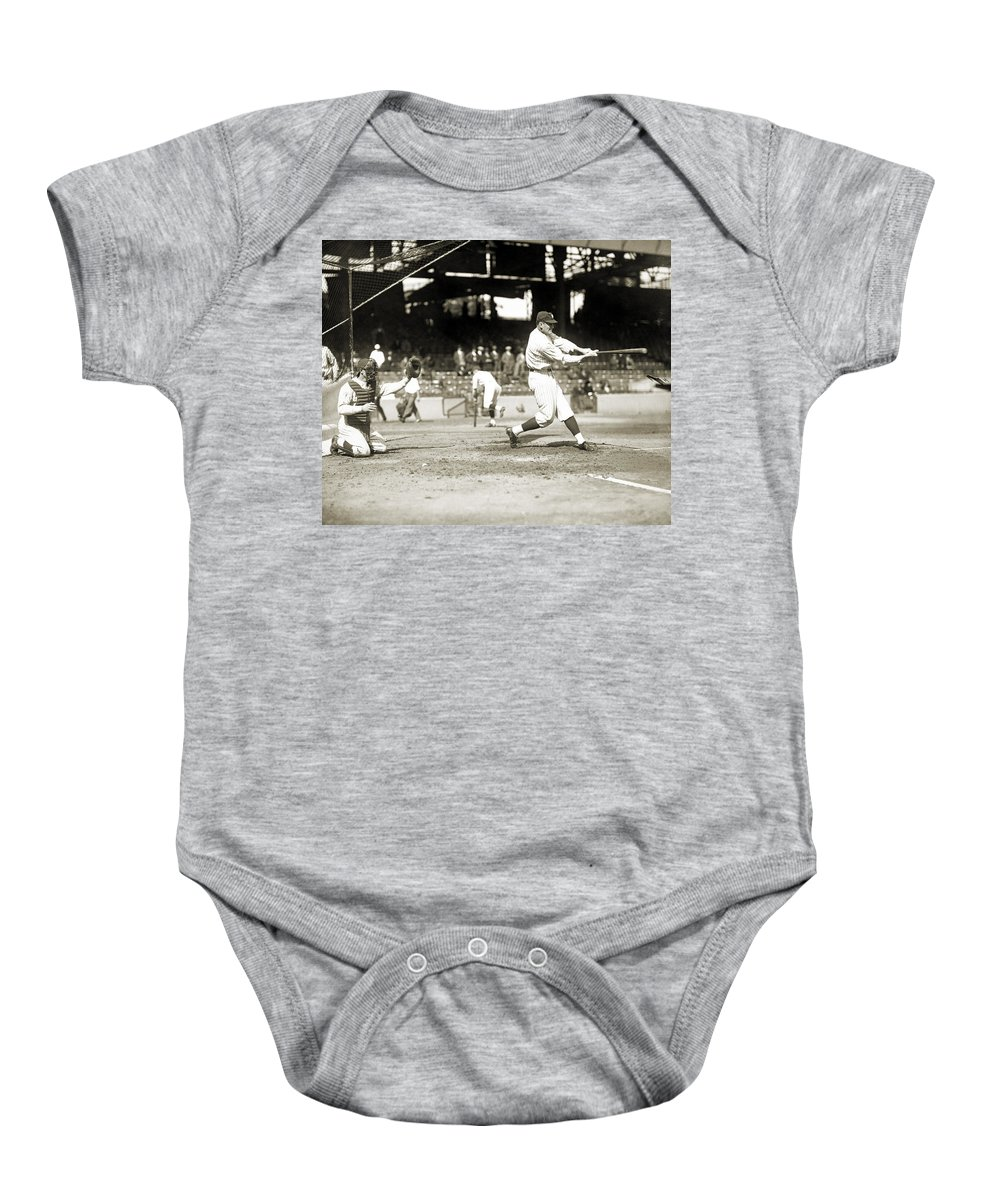 1922 Baby Onesie featuring the photograph Walter Perry Johnson by Granger