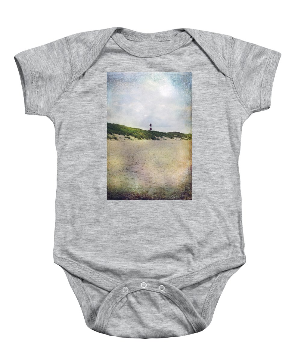 Lighthouse Baby Onesie featuring the photograph Lighthouse by Joana Kruse