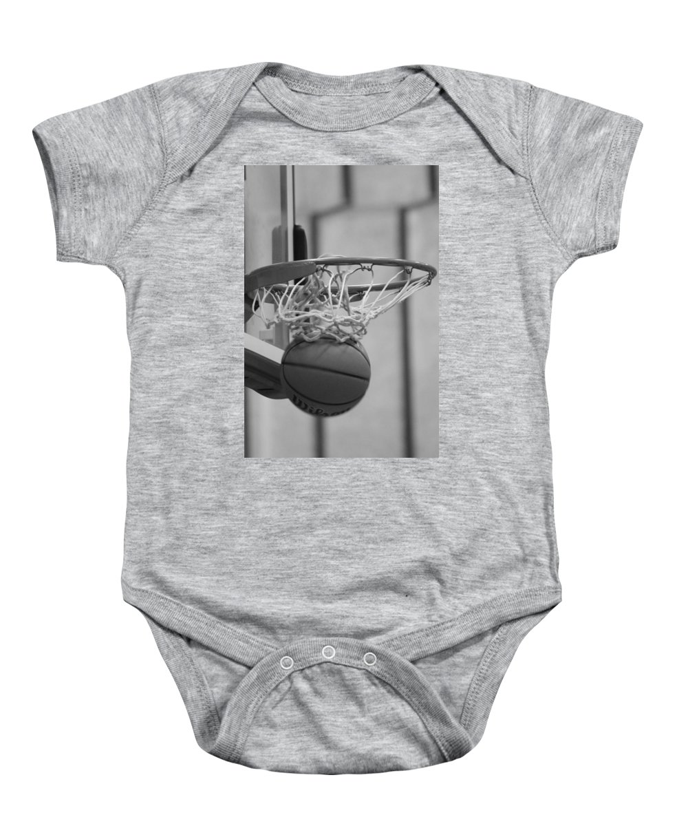 Net Baby Onesie featuring the photograph A Collection Of Points by Laddie Halupa