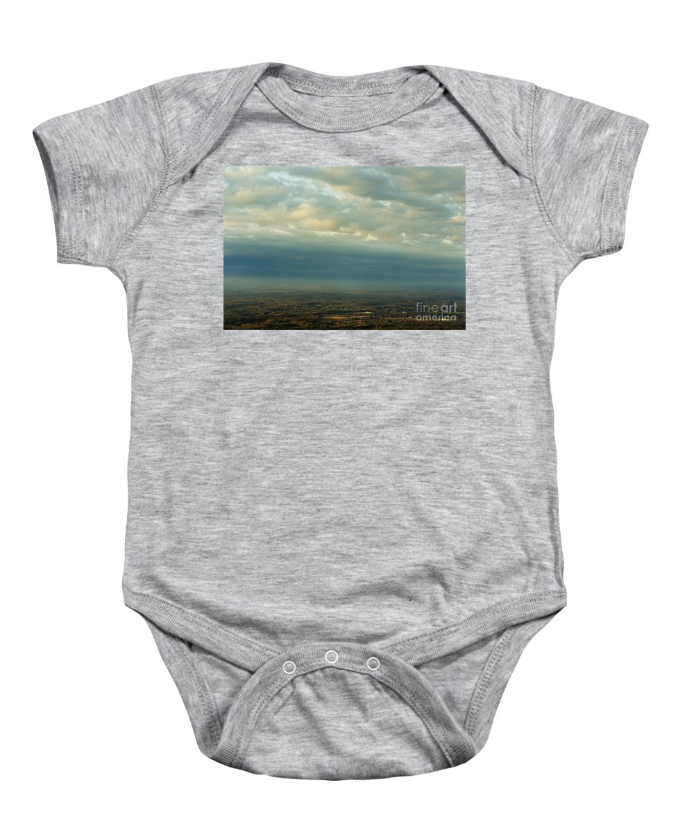 Birds Baby Onesie featuring the photograph A Majestic Birds Eye View by Tom Luca