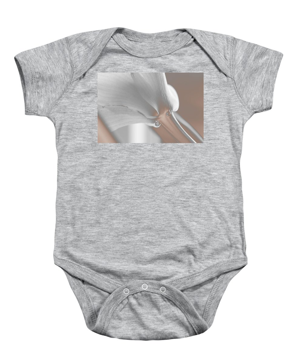 Flower Baby Onesie featuring the photograph A Memory by Marie Jamieson