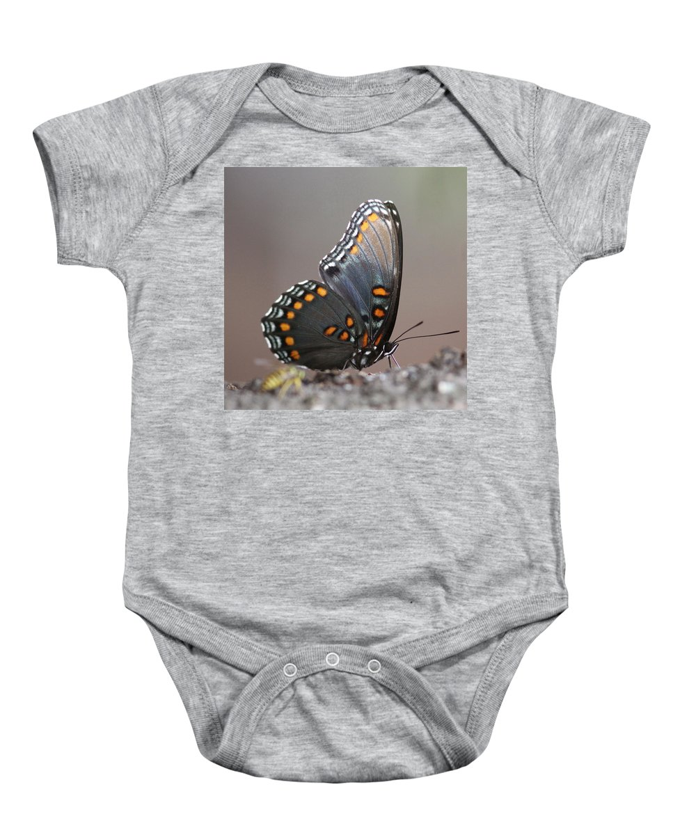 Butterfly Baby Onesie featuring the photograph Bee And Me by Travis Truelove