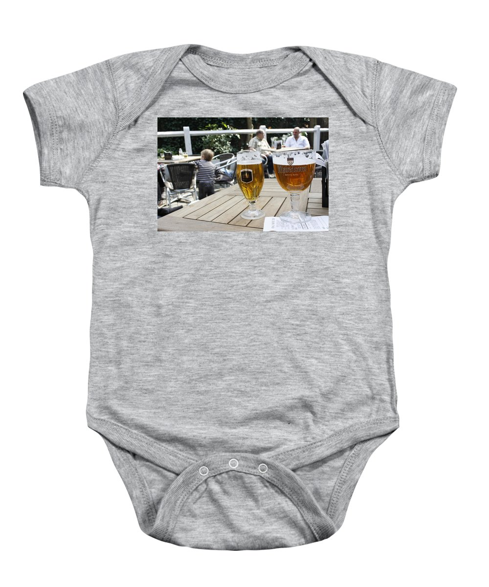 Beer Baby Onesie featuring the photograph Beer-mania by Donato Iannuzzi