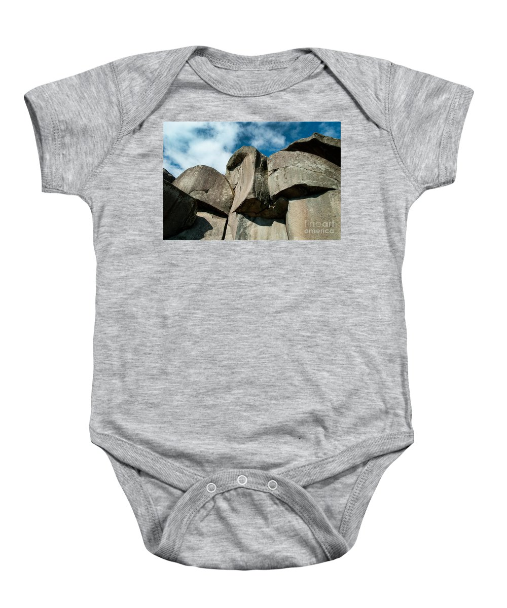 Gettysburg Baby Onesie featuring the photograph Big Rock Ear by Paul W Faust - Impressions of Light