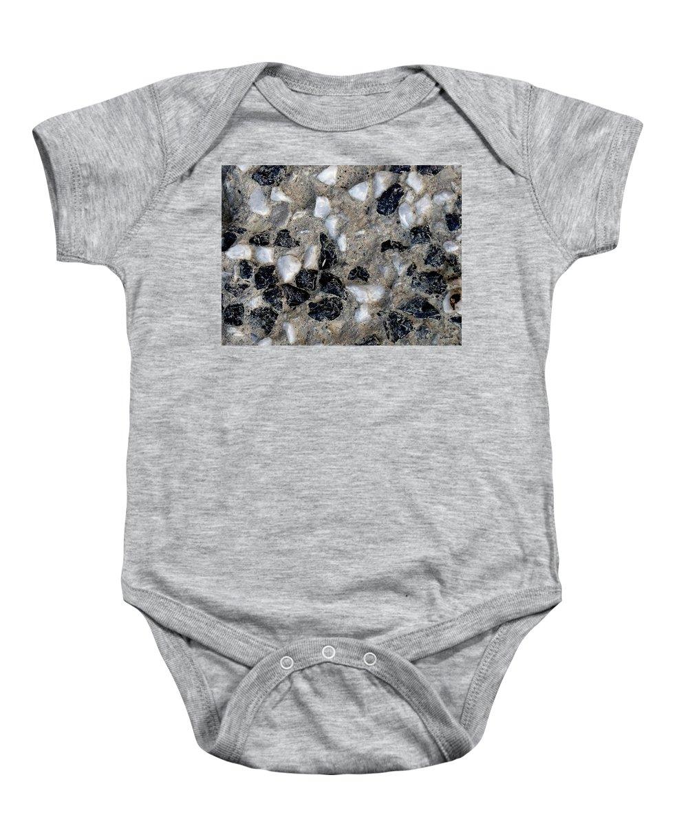 Black Diamonds Baby Onesie featuring the photograph Black Diamonds by Ed Smith