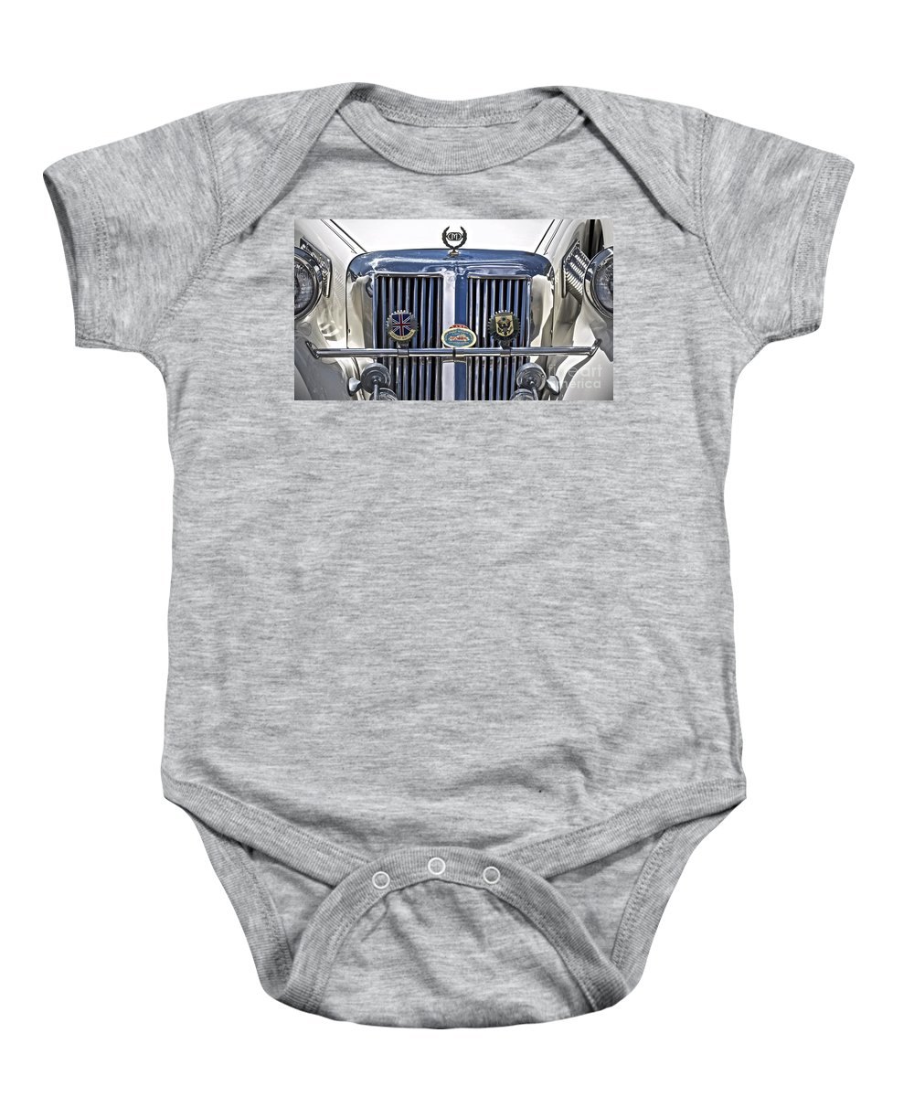 Cmc Baby Onesie featuring the photograph C M C by Gwyn Newcombe