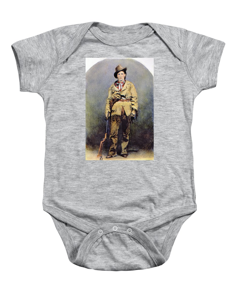 1895 Baby Onesie featuring the photograph Calamity Jane (c1852-1903) by Granger