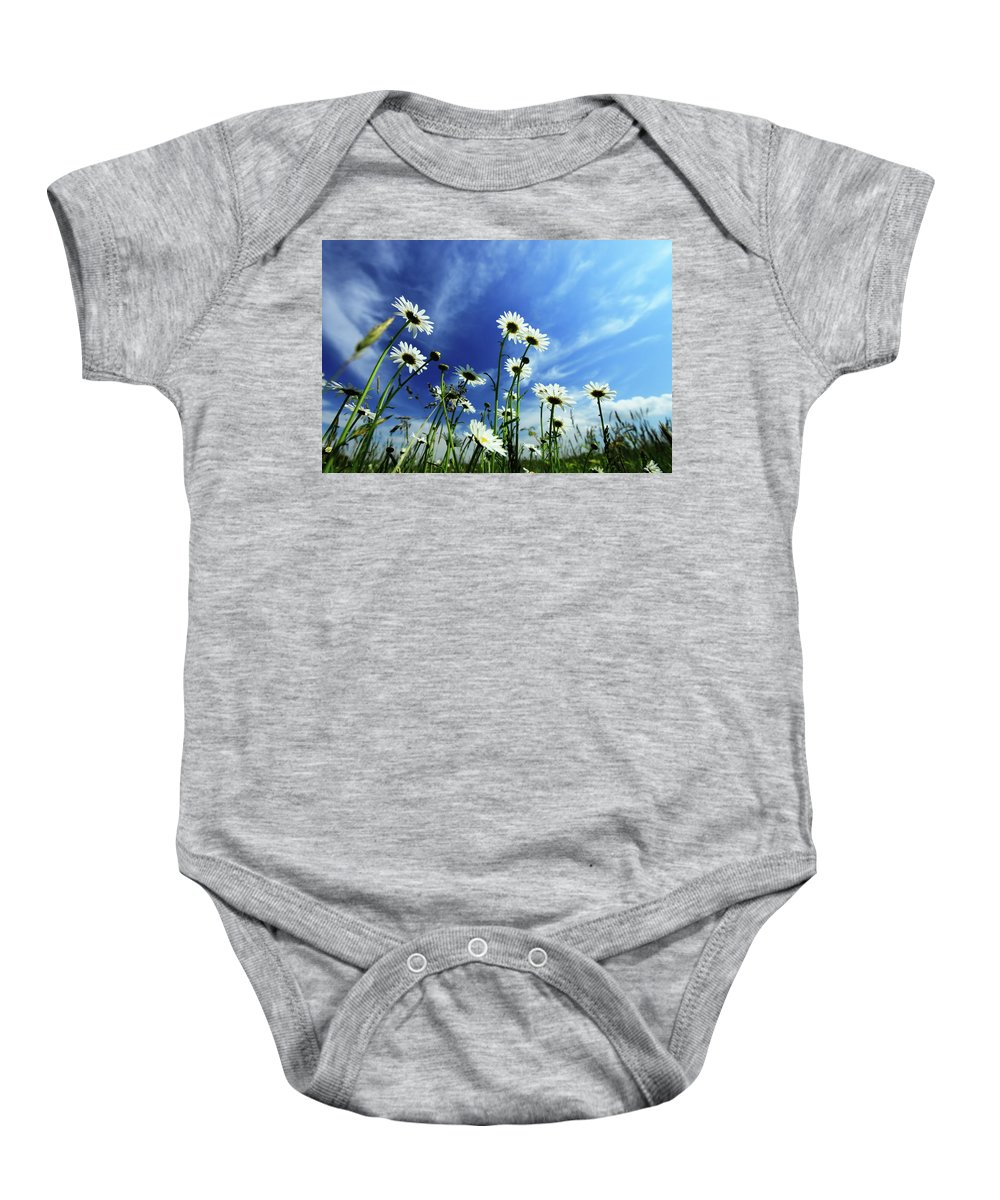 Daisy Baby Onesie featuring the photograph Cape Cod Summer by Rick Berk
