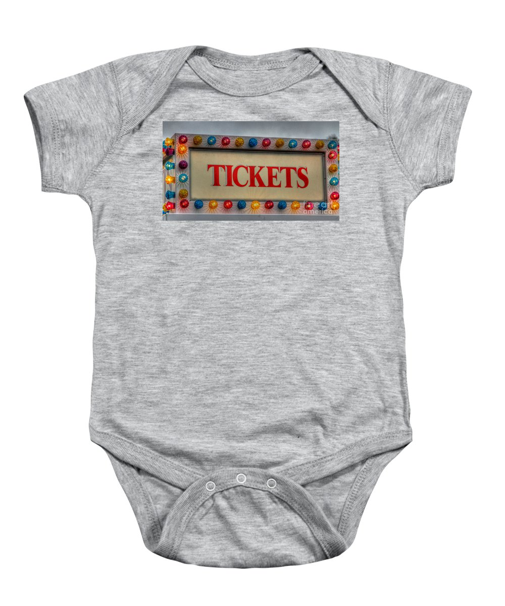 Fair Baby Onesie featuring the photograph Carnival Life by Robert Pearson