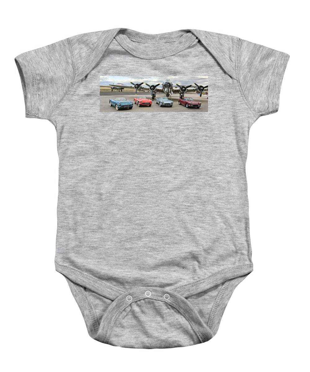 Baby Onesie featuring the photograph Cc 02 by Jill Reger
