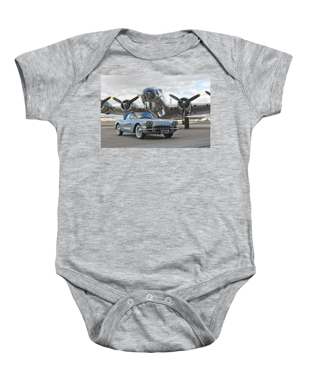 Baby Onesie featuring the photograph Cc 06 by Jill Reger