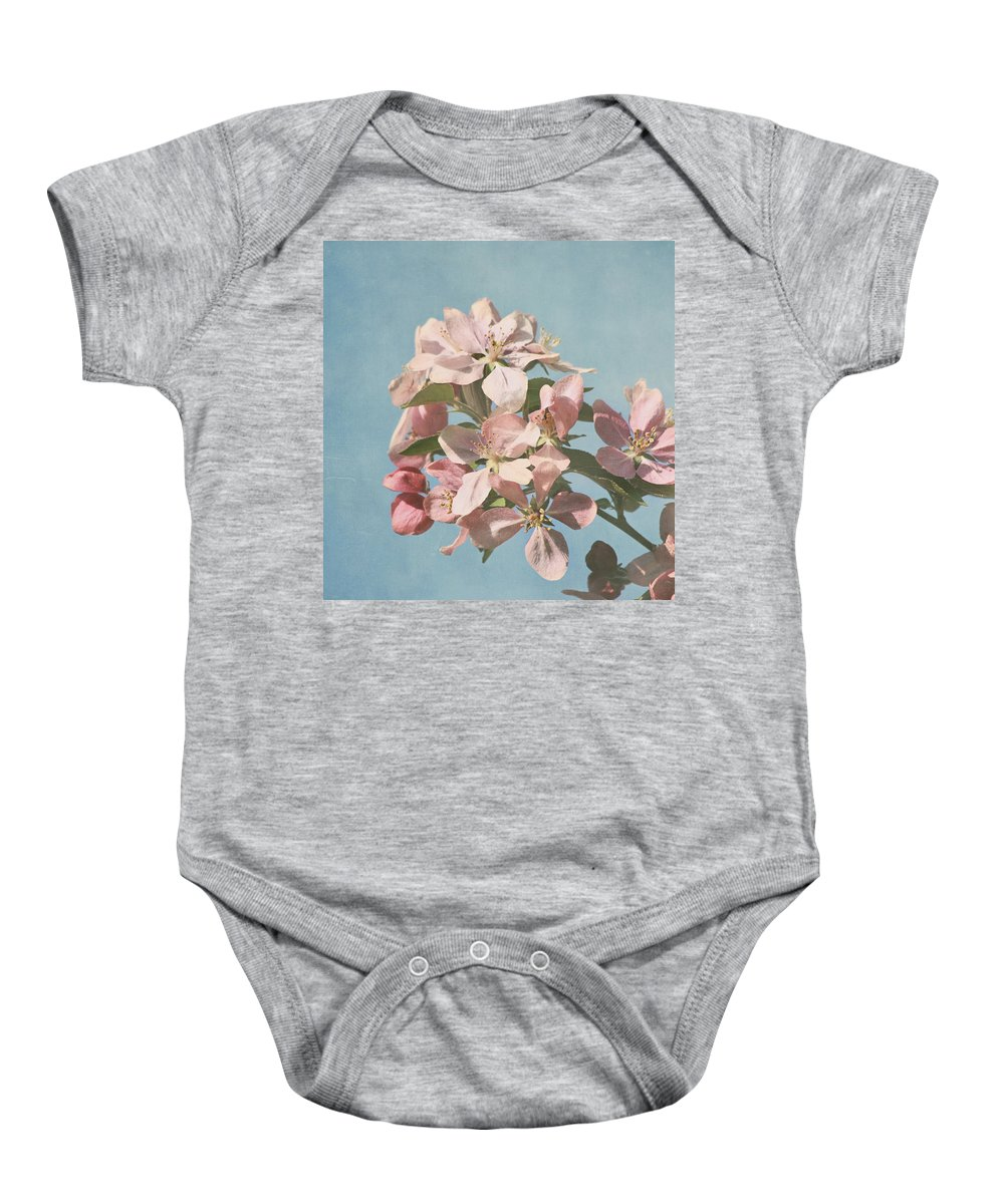 Cherry Blossoms Photographs Baby Onesie featuring the photograph Cherry Blossoms by Kim Hojnacki