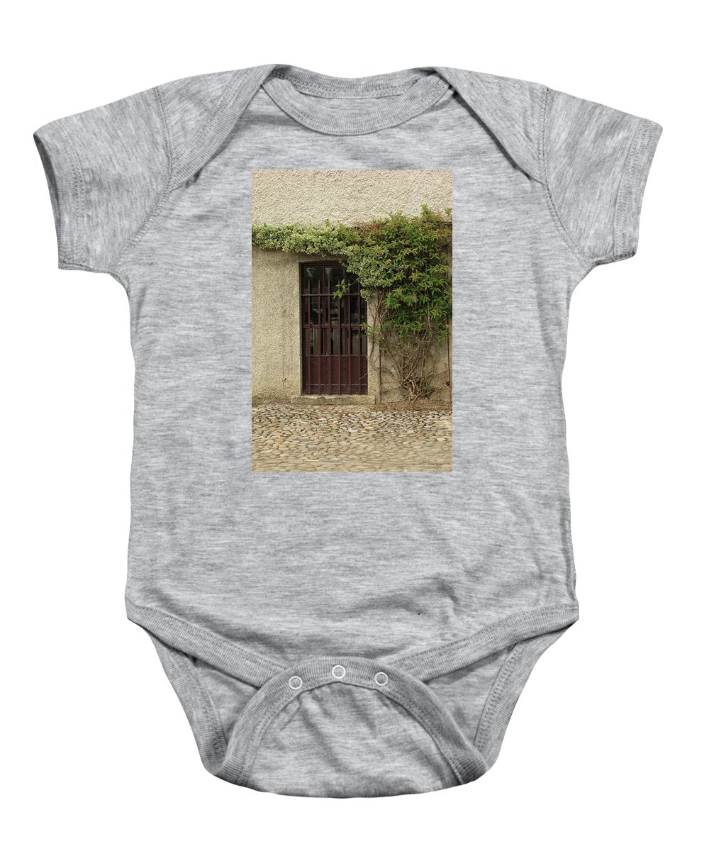 City Baby Onesie featuring the photograph City 0013 by Carol Ann Thomas