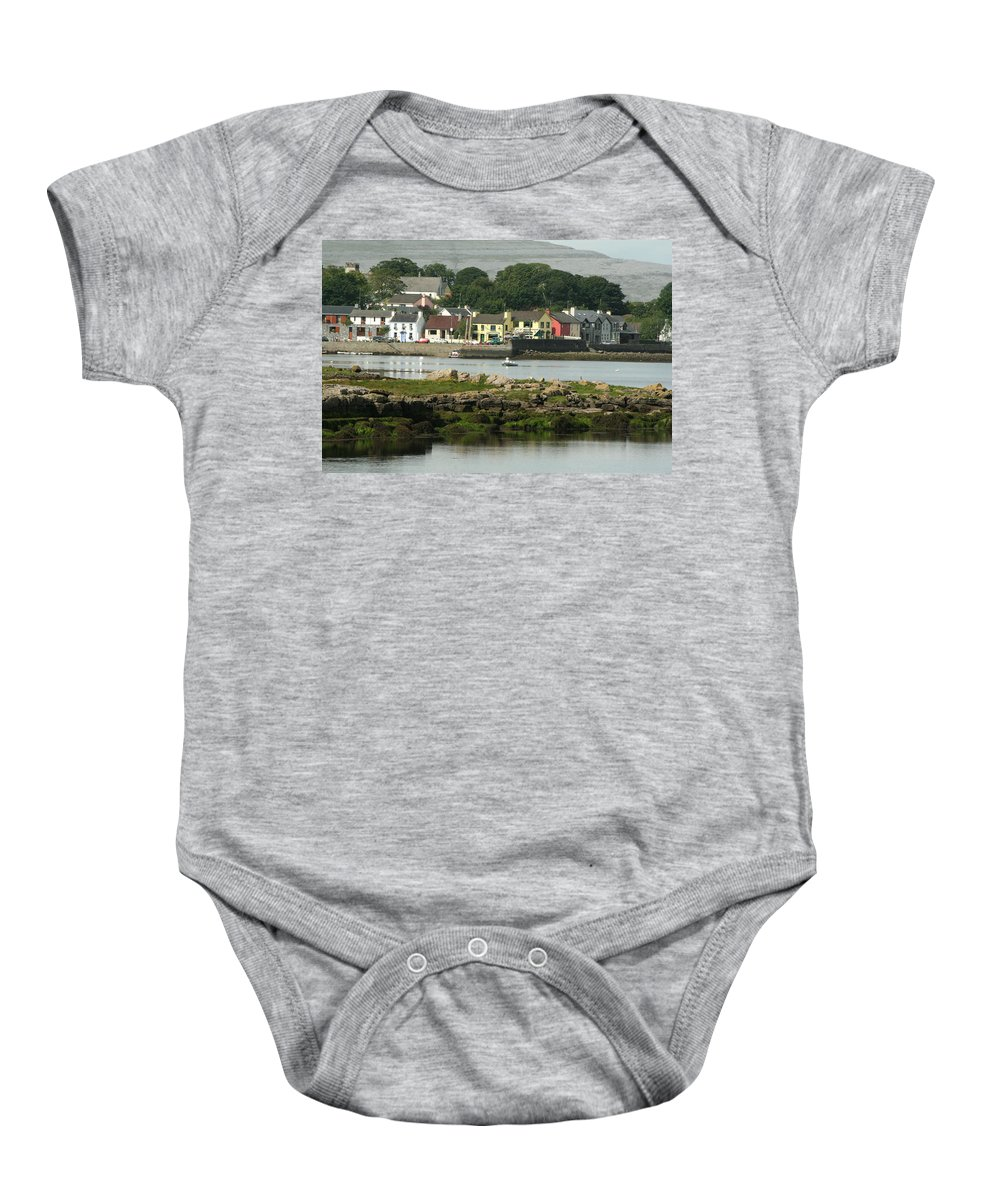 Ireland Baby Onesie featuring the photograph City 0017 by Carol Ann Thomas