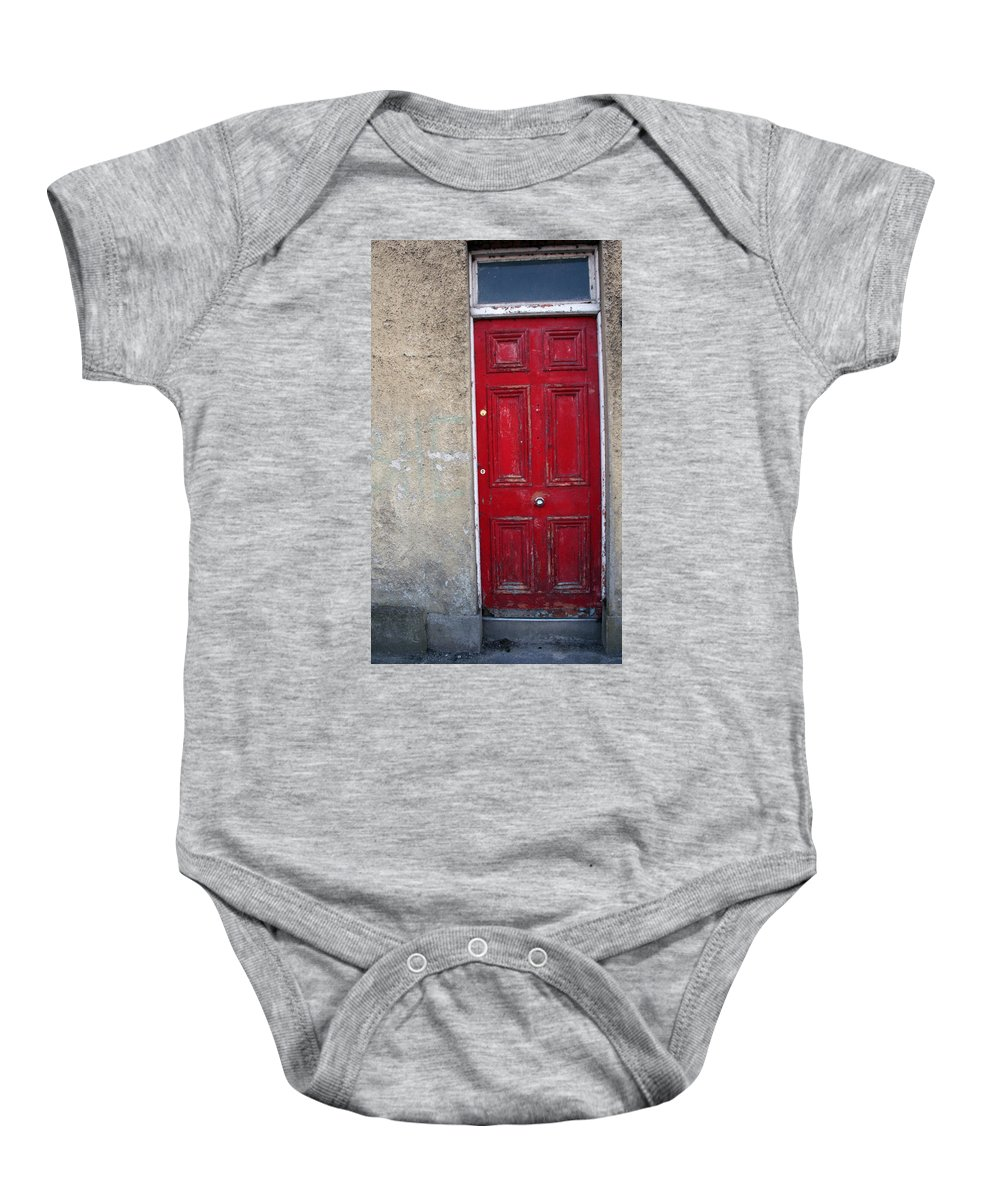 Door Baby Onesie featuring the photograph City 0022 by Carol Ann Thomas
