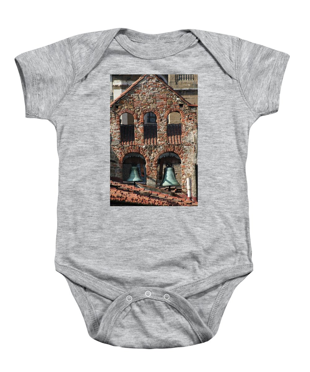 City Baby Onesie featuring the photograph City 0032 by Carol Ann Thomas