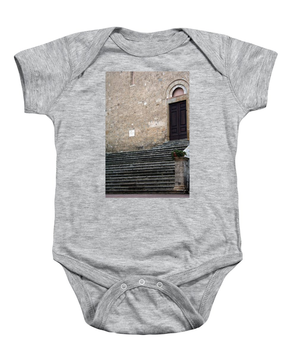 Italy Baby Onesie featuring the photograph City 0042 by Carol Ann Thomas