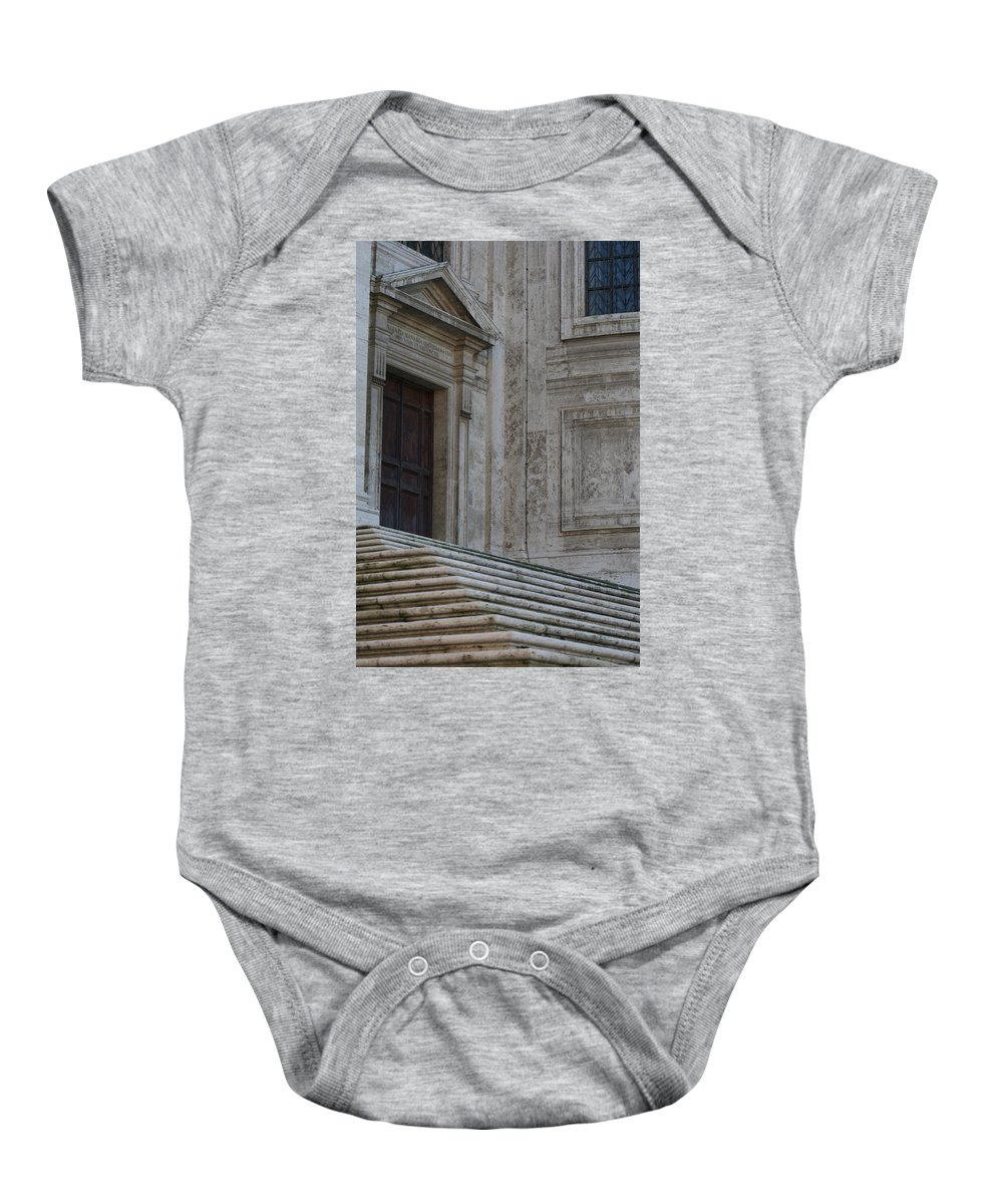 Rome Baby Onesie featuring the photograph City 0049 by Carol Ann Thomas