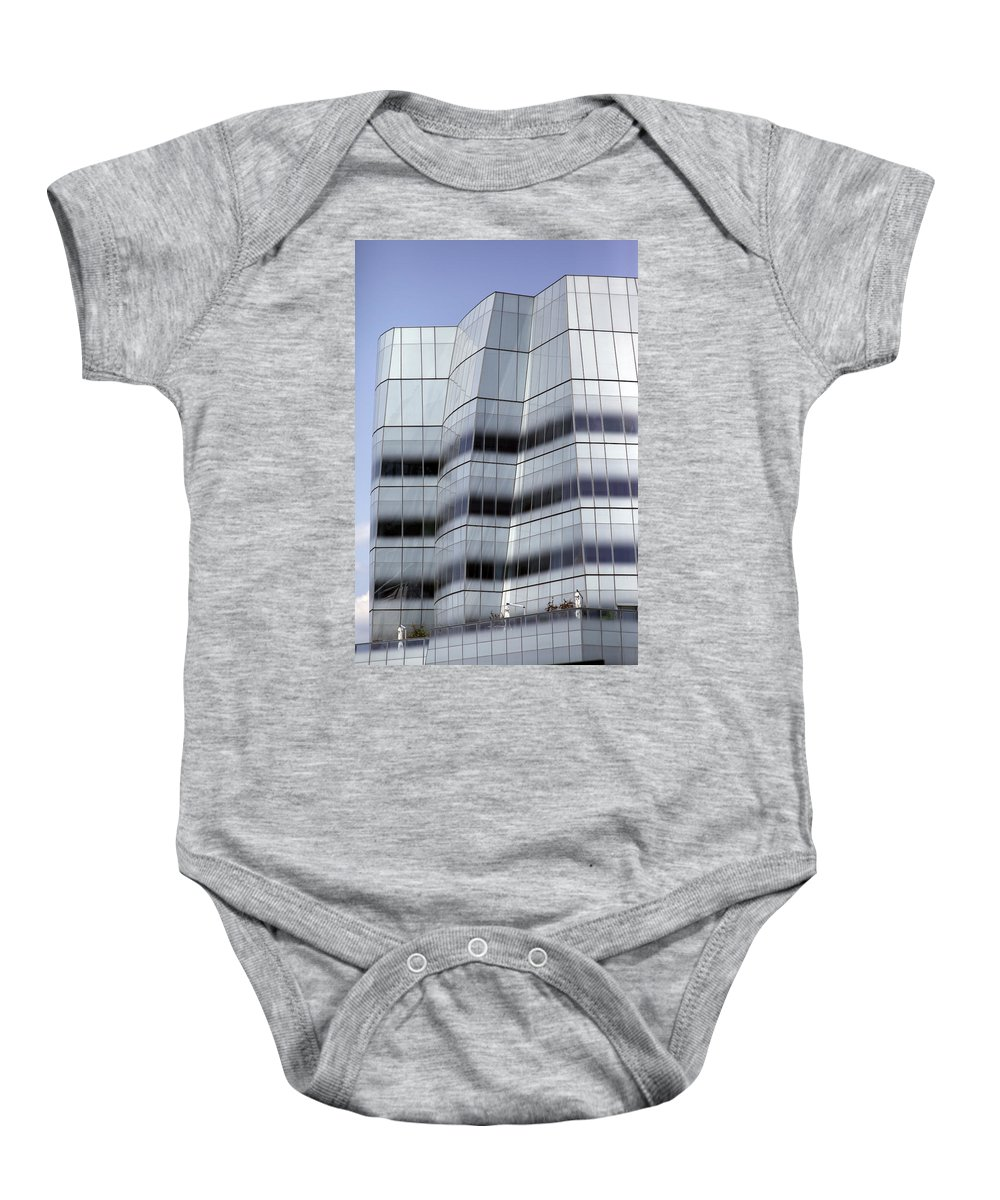New York City Baby Onesie featuring the photograph City 0051 by Carol Ann Thomas