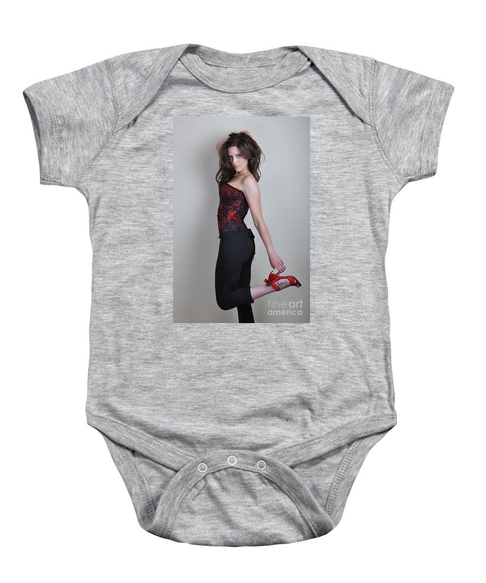 Yhun Suarez Baby Onesie featuring the photograph Claire2 by Yhun Suarez