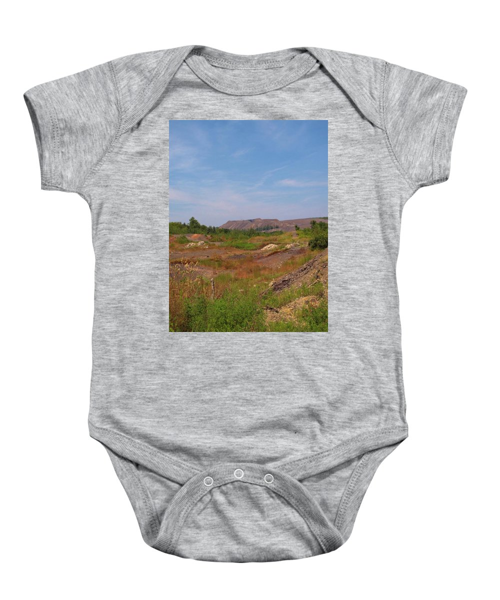 Centralia Pa Baby Onesie featuring the photograph Coal Region by Michele Nelson