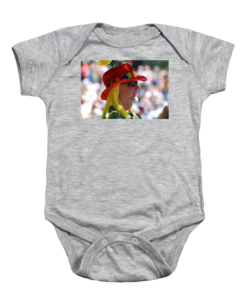 Colorful Baby Onesie featuring the photograph Colorful Character by Eric Tressler