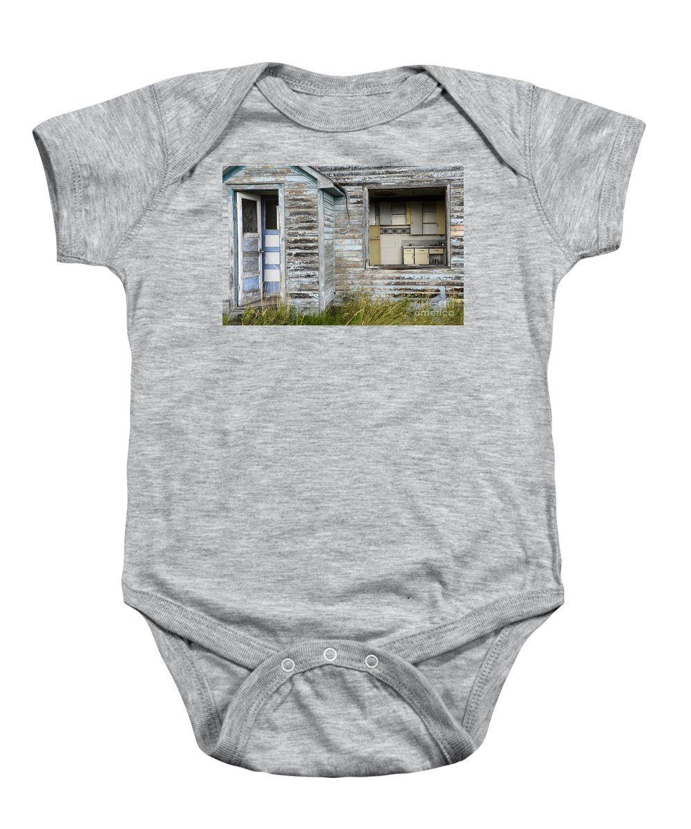 Kitchen Baby Onesie featuring the photograph Comes With An Open Kitchen by Bob Christopher