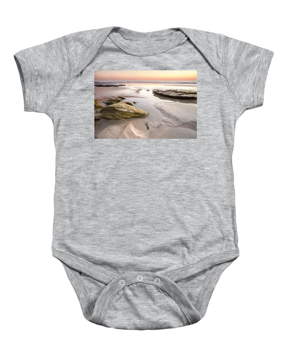 Florida Baby Onesie featuring the photograph Dawn by Bill Swindaman