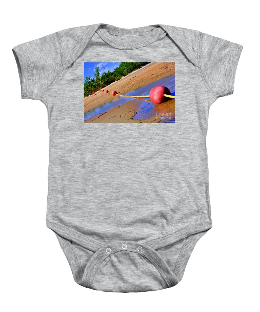 Lake Baby Onesie featuring the photograph Dry Lake by Anjanette Douglas