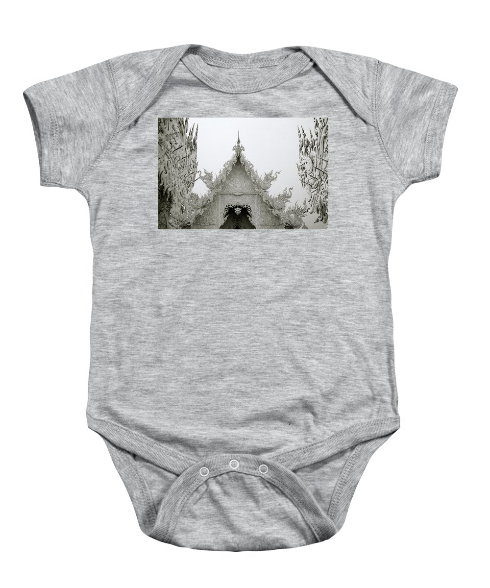 B&w Baby Onesie featuring the photograph Elegance by Shaun Higson