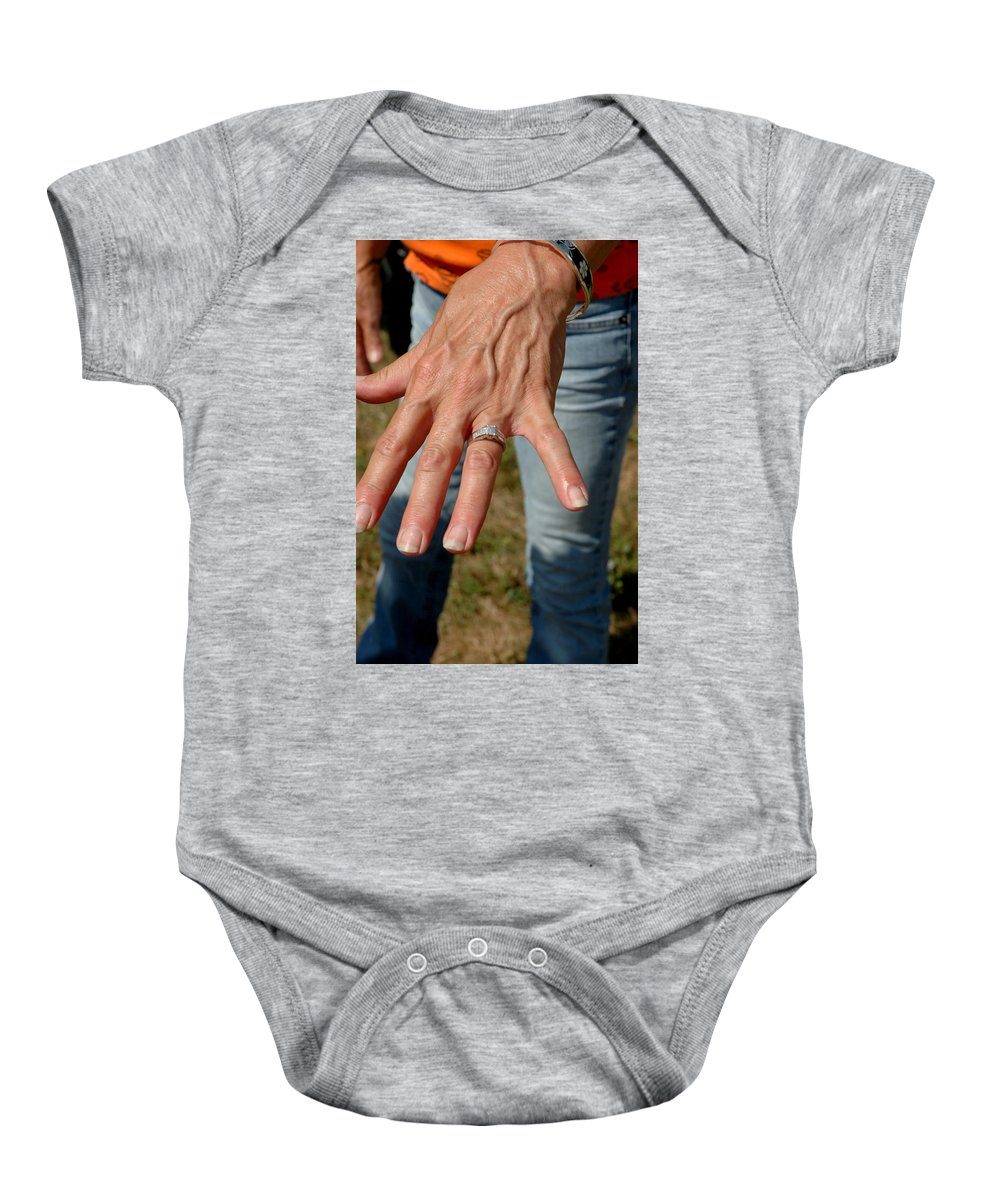 Usa Baby Onesie featuring the photograph Engaged by LeeAnn McLaneGoetz McLaneGoetzStudioLLCcom