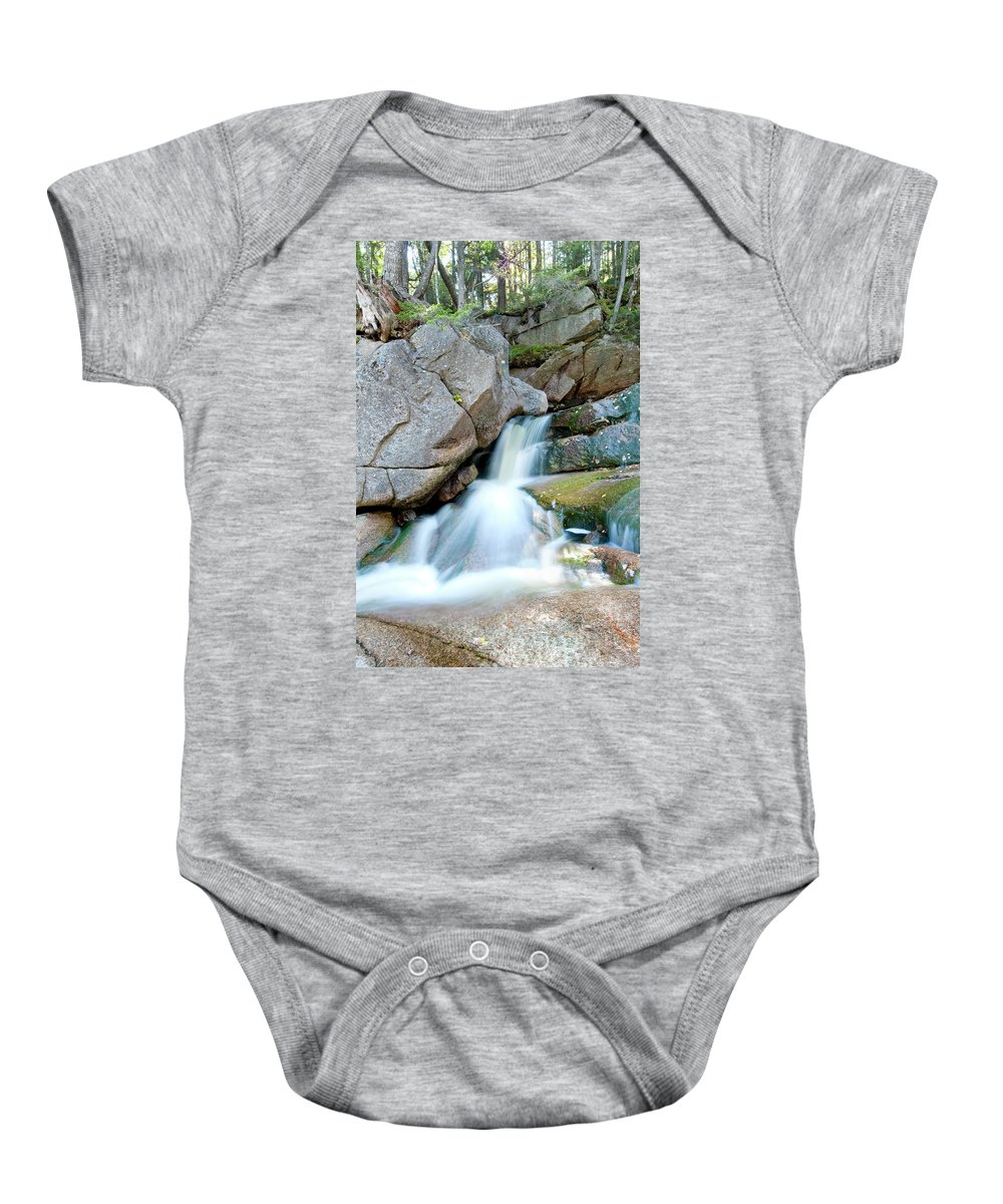 Water Baby Onesie featuring the photograph Falling by Greg Fortier