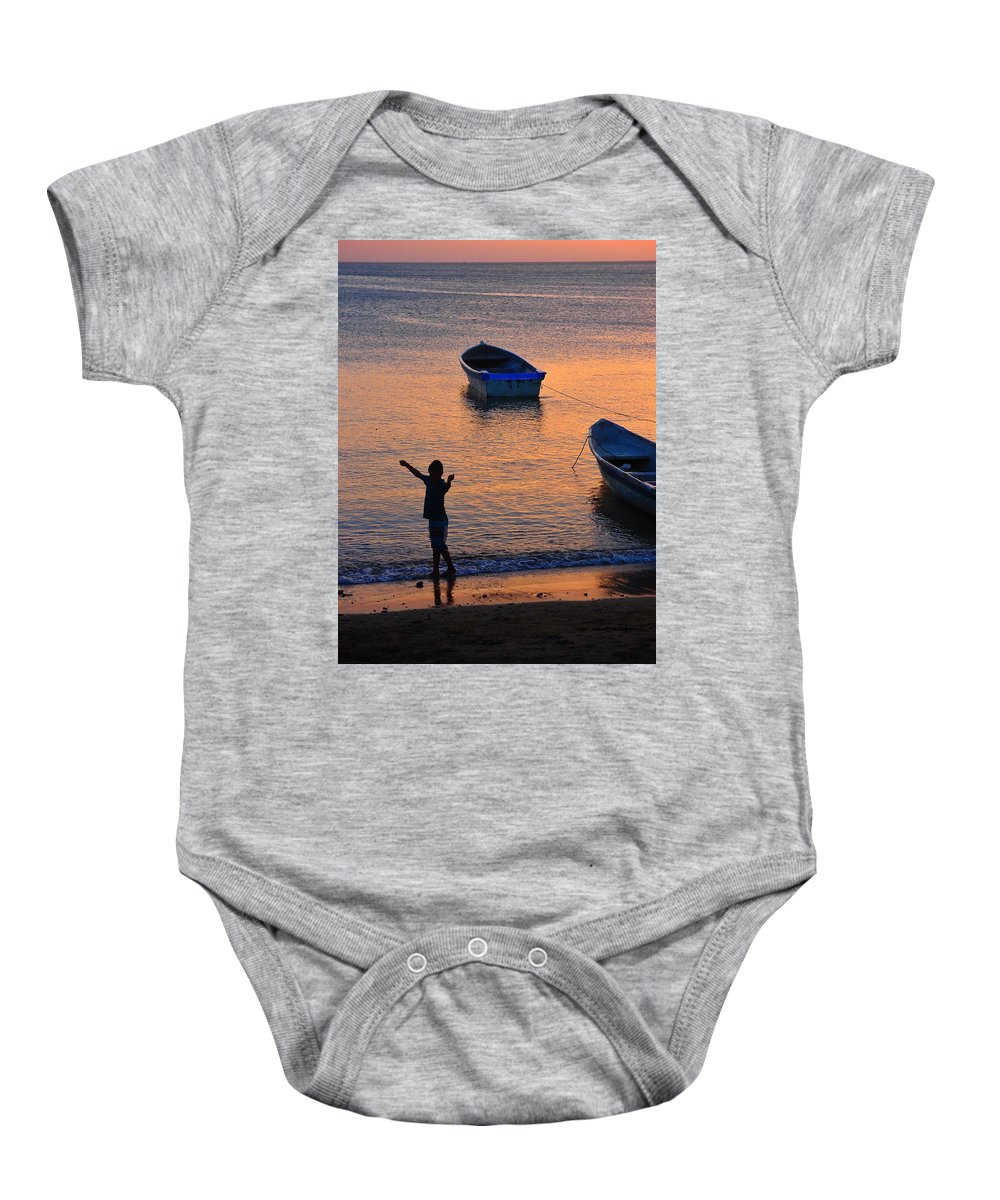 Free Spirit Baby Onesie featuring the photograph Free Spirit by Skip Hunt