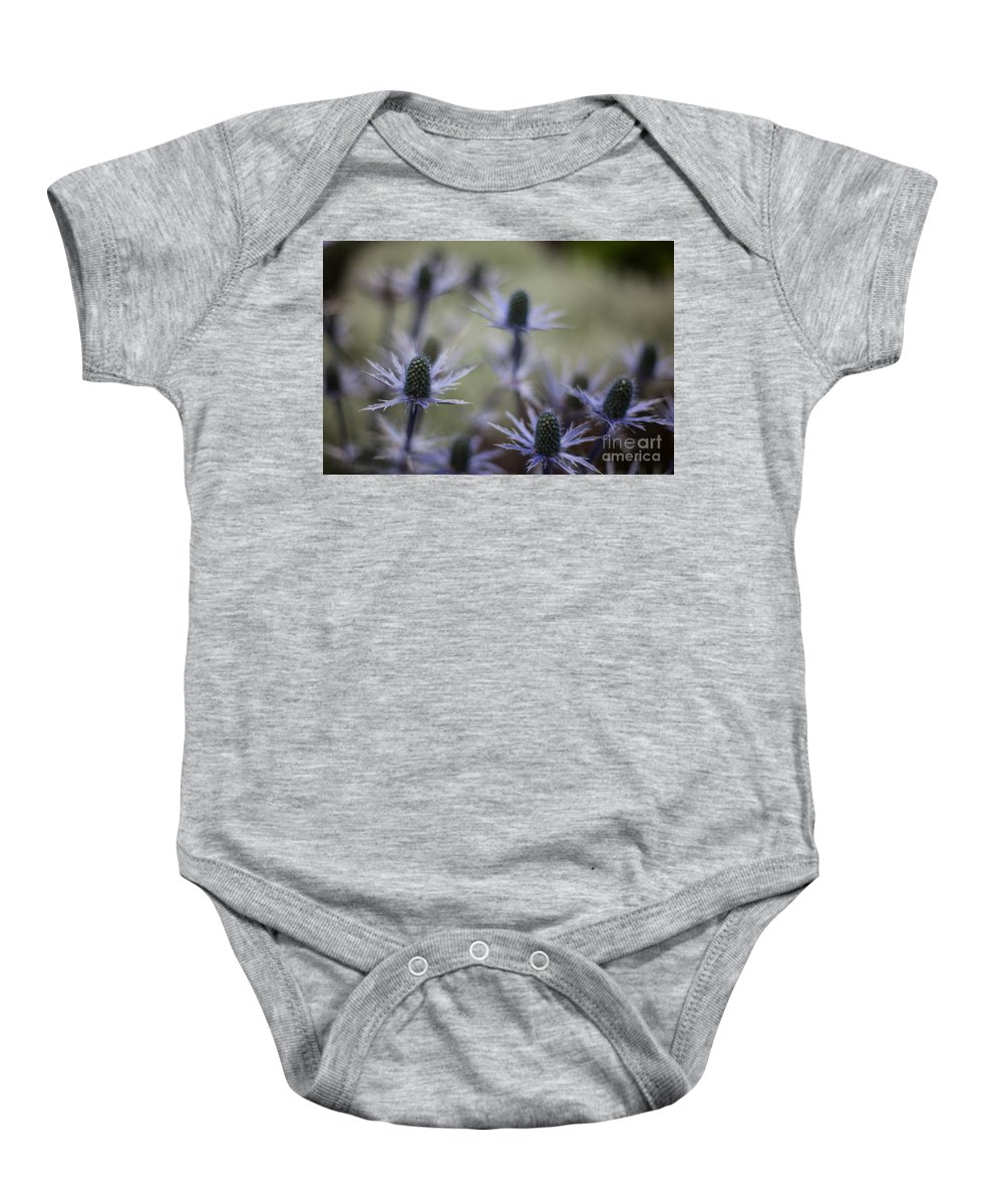 Flower Baby Onesie featuring the photograph Garden Facets by Mike Reid