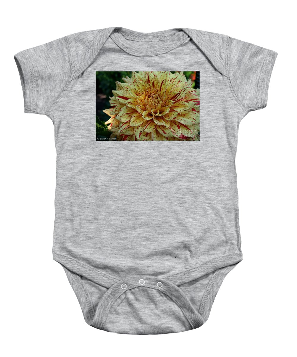 Outdoors Baby Onesie featuring the photograph Glorious Gloriosa by Susan Herber