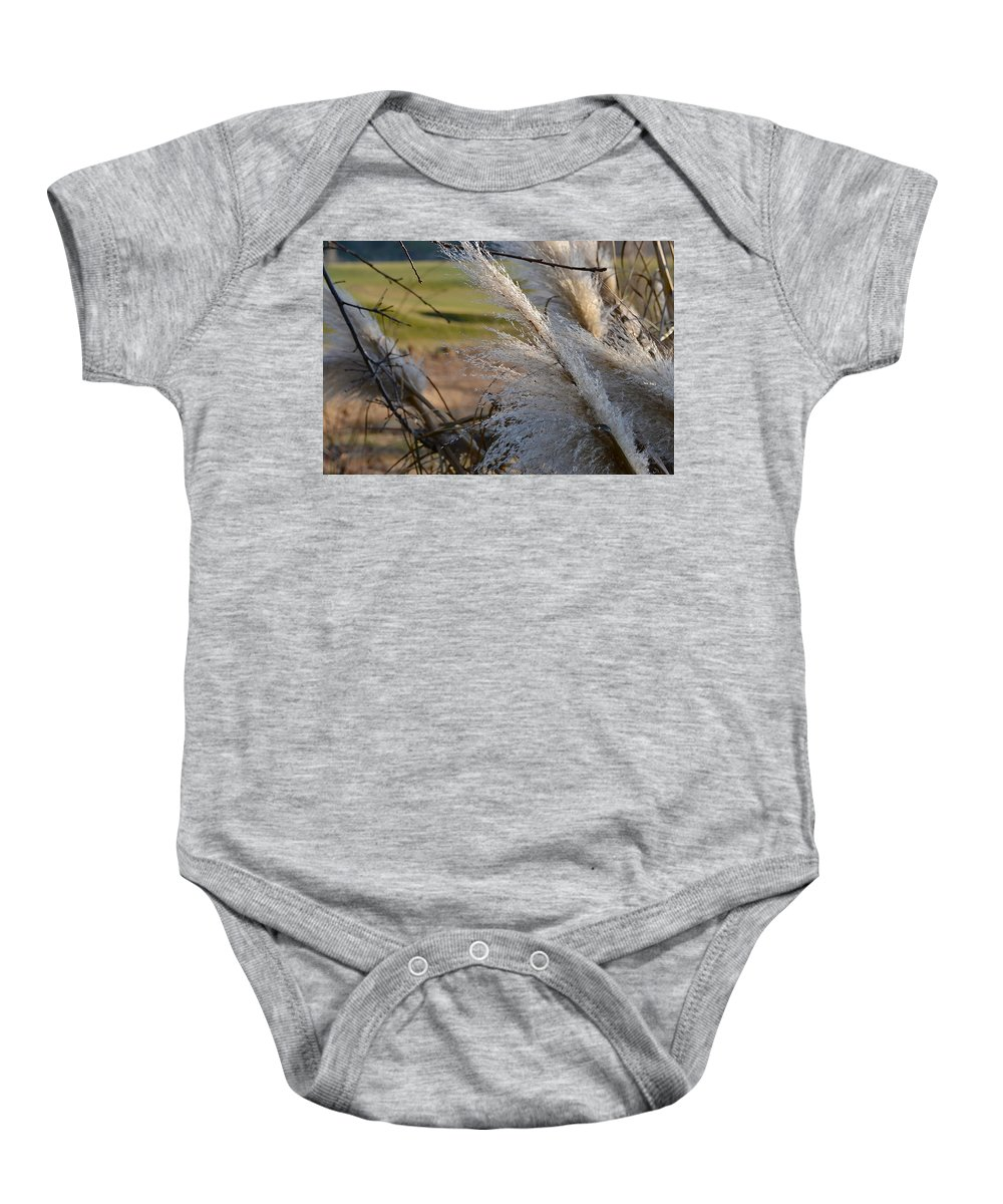 Golf Course Baby Onesie featuring the photograph Golf Course Grasses by Bill Owen