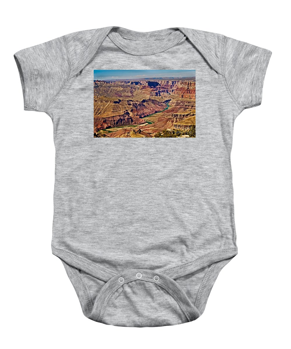 Grand Canyon Baby Onesie featuring the photograph Grand Canyon by Robert Bales
