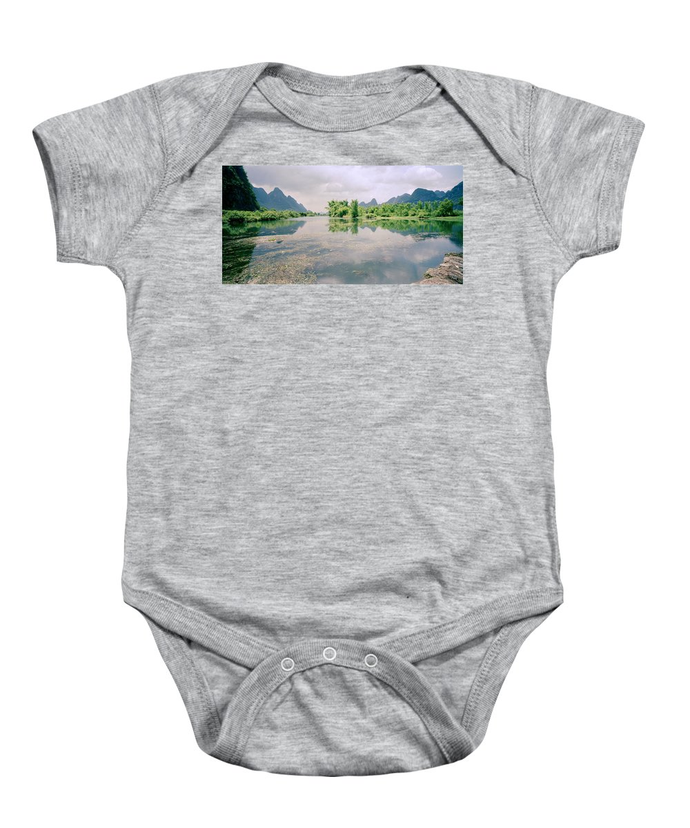 China Baby Onesie featuring the photograph Guangxi In China by Shaun Higson