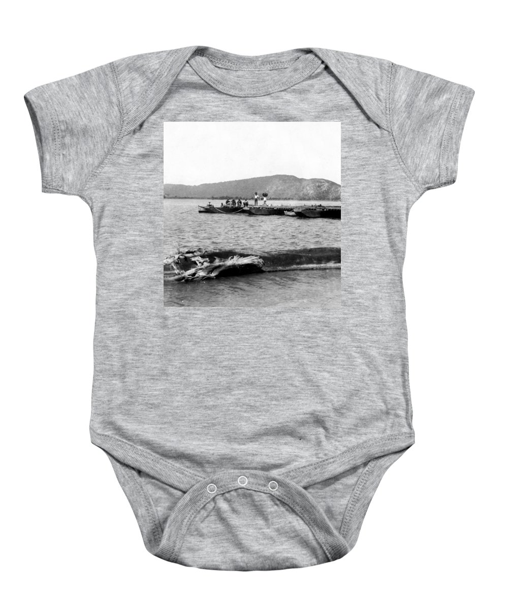 puerto Rico Baby Onesie featuring the photograph Guanica Harbor - San Juan - Puerto Rico - C 1899 by International Images
