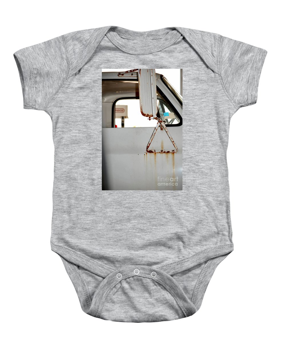 Rust Baby Onesie featuring the photograph Harvest by Anjanette Douglas