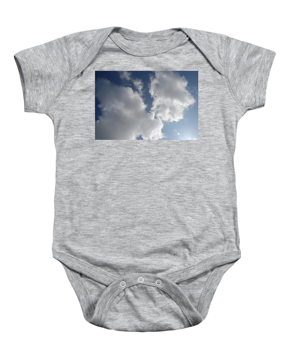 Cloud Baby Onesie featuring the photograph Heavenly Clouds by Michael Merry