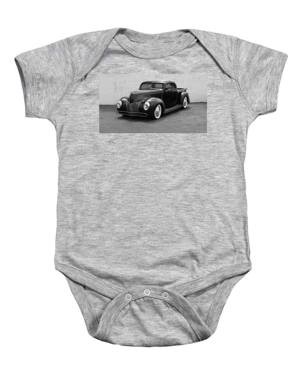 Hot Rod Baby Onesie featuring the photograph Hot Rod Pick Up by Rob Hans