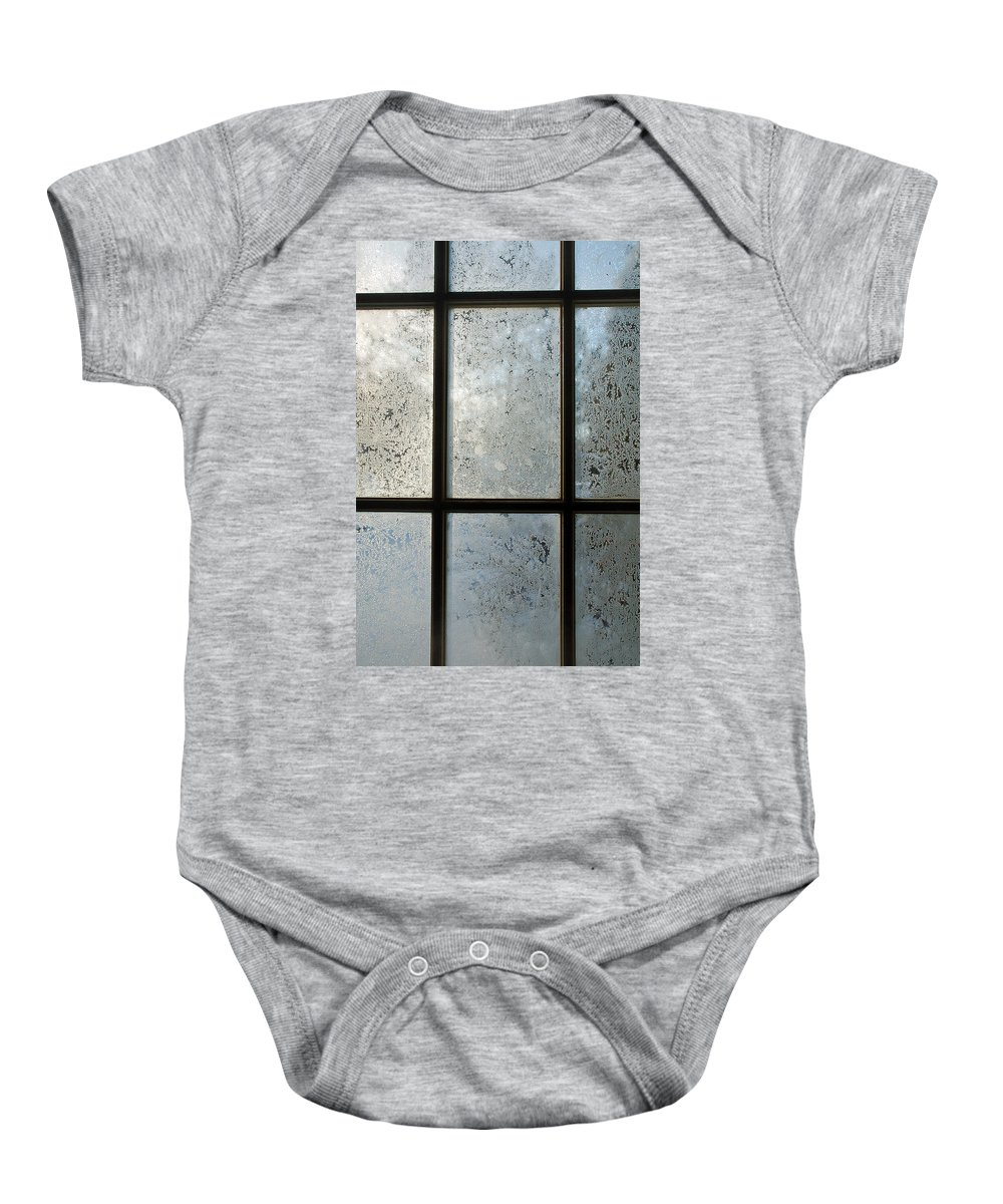 Frost Baby Onesie featuring the photograph Jack Frost by Aimee L Maher ALM GALLERY