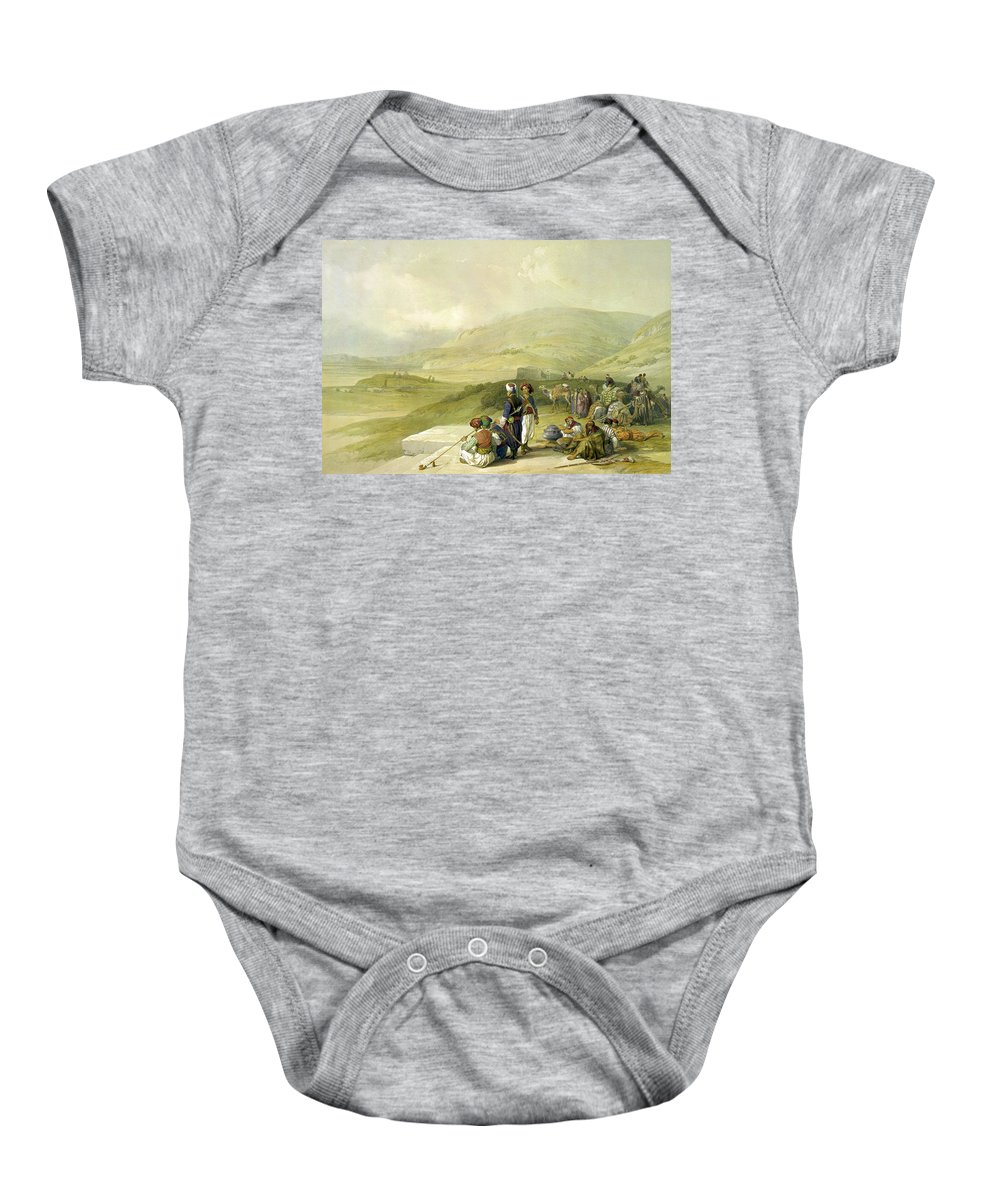 Nablus Baby Onesie featuring the photograph Jacobs Well At Shechem by Munir Alawi