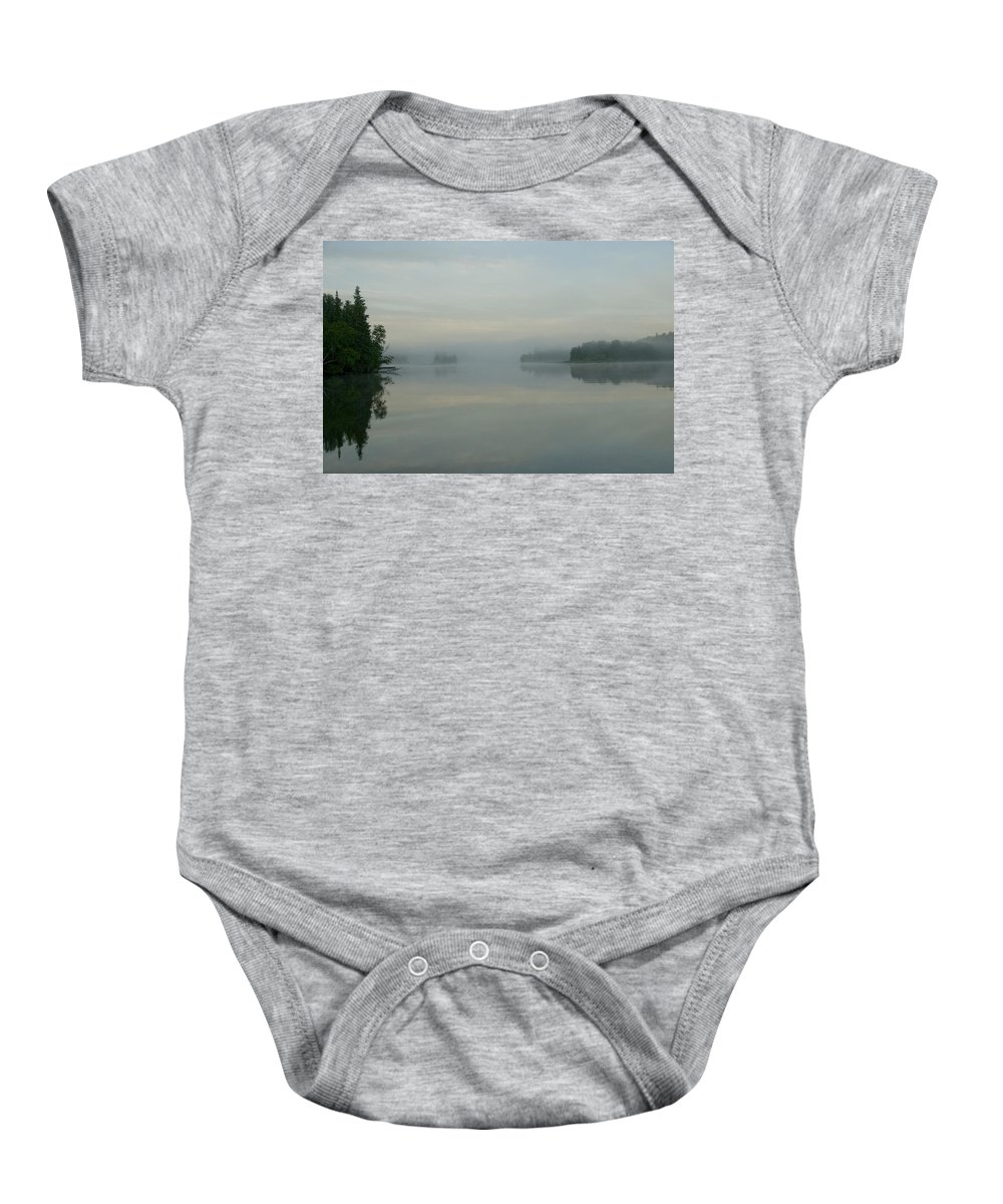 Beauty In Nature Baby Onesie featuring the photograph Lake Of The Woods, Ontario, Canada View by Keith Levit