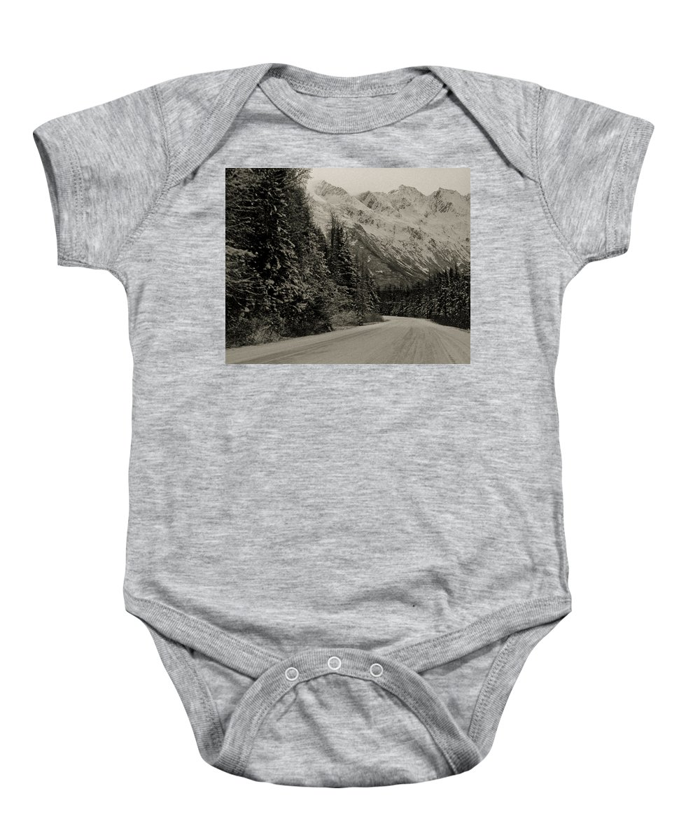 Alaska Baby Onesie featuring the photograph Leaving Valdez by Roger Wedegis