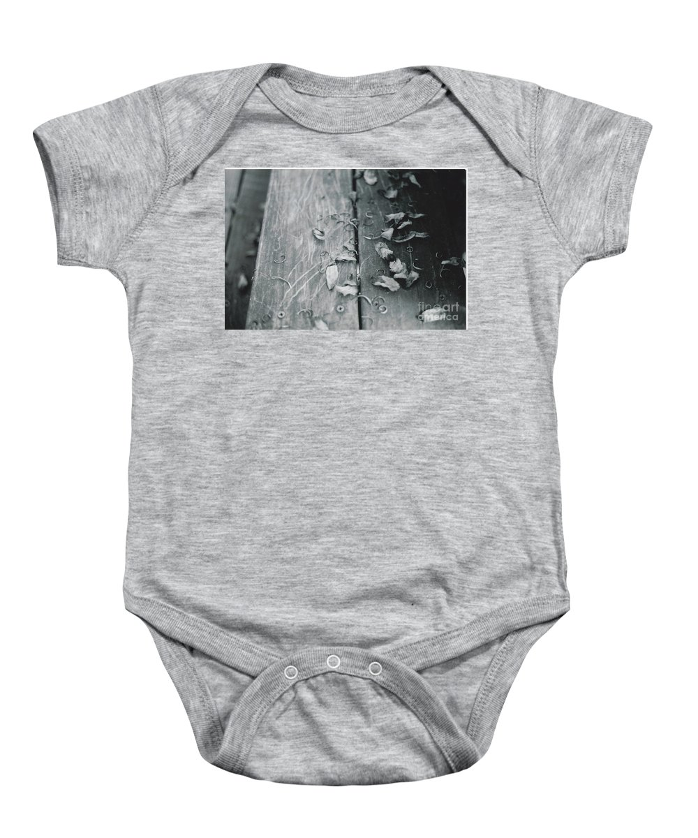 Photo Shot With A 32 Year Old Minolta Xg-m 35mm Slr Baby Onesie featuring the photograph Light And Dark by Catherine Conroy